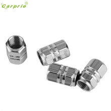 CARPRIE Hot Selling New 4pcs/pack Theftproof Aluminum Car Wheel Tires Valves Tyre Stem Air Caps Airtight Cover Gift Mar 21(China)