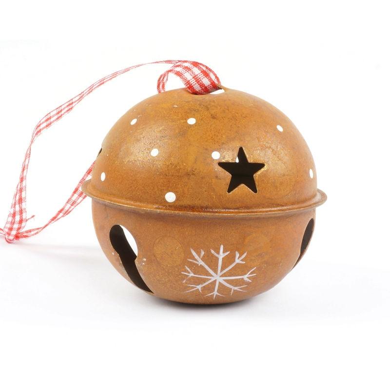 Decoración de navidad para el hogar 6 unids proceso de moho campana - Para fiestas y celebraciones - foto 3
