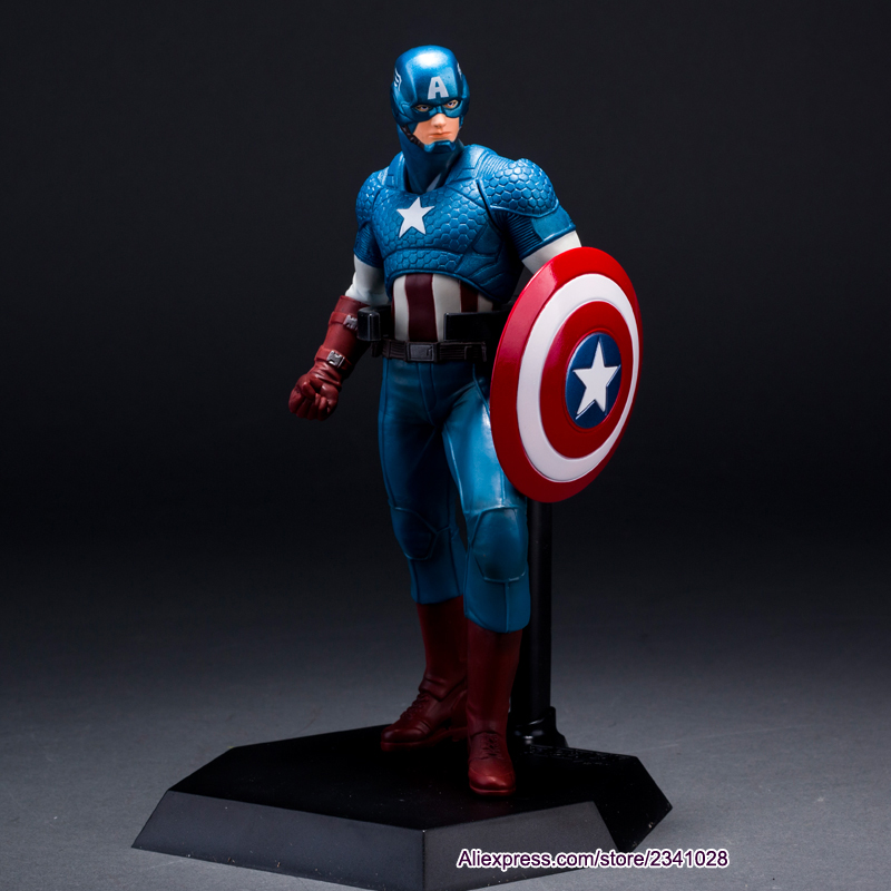 Anime marvel brinquedos action & toy figures action figure juguetes avengers captain...