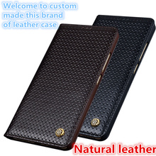 LS02 Magnetic Real Leather Flip Case For Sony Xperia XZ Premium(5.5') Phone Case For Sony Xperia XZ Premium Flip Cover