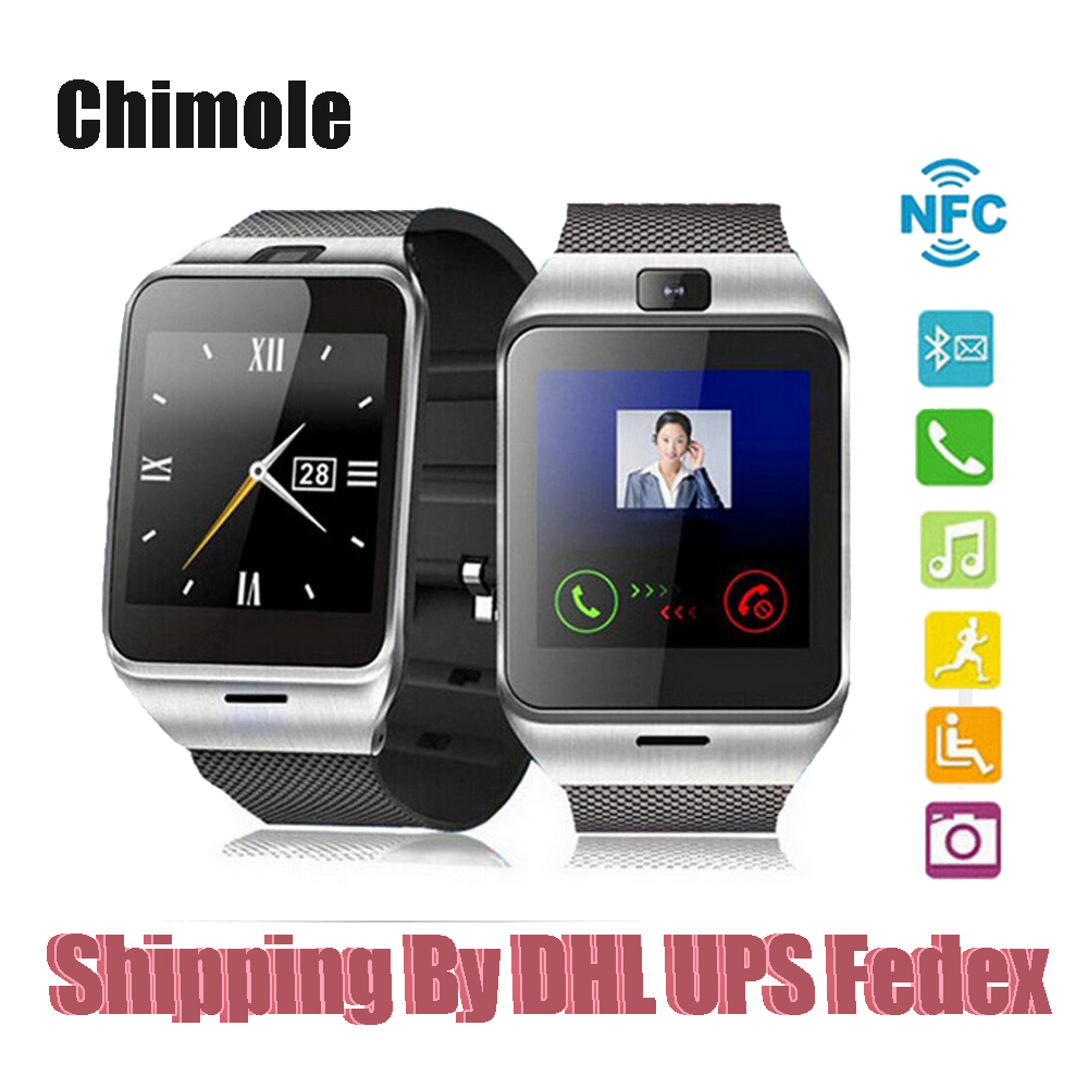 20 unids aplus gv18 wearable dispositivos bluetooth smart watch sim smartwatch p