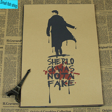 Sherlock Holmes Antique Style Poster