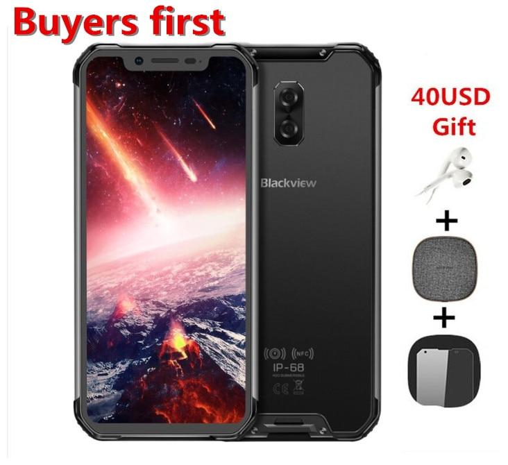 Купить Blackview BV9600 Pro Helio P60 6 ГБ + 128 GB IP68 Водонепроницаемый мобильный телефон 6,21