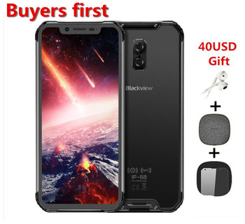 Купить Blackview BV9600 Pro Helio P60 6 ГБ + 128 Гб IP68 водонепроницаемый мобильный телефон 6,21 дюйм19:9 FHD 5580 мАч Android 8,1 NFC 16MP 4G смартфон