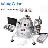 Fresa final 4-20mm moedores de tungstênio 220 v moedor universal máquina de moedura automática ERM4-20