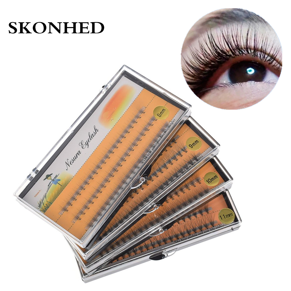 1 Box 0.07 C  Individual Wave Eyelashes Natural Long False Eyelashes Fake Artificial Eyelash Extension Eye Makeup Beauty Tool