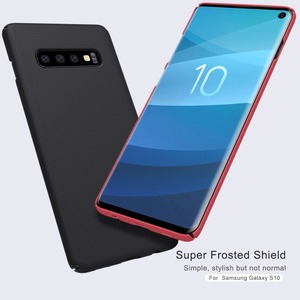 Image 2 - 10pcs/lot wholesale NILLKIN Super Frosted Shield matte PC hard back cover case for Samsung Galaxy S10 case