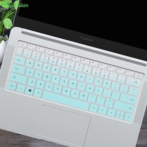 Silicone Laptop Keyboard Cover Protector Skin For Huawei MateBook D 14 inch 2018 2019 Notebook D14 14.0''(China)