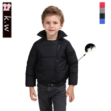 Brand KW Unisex Kids Clothes 80% White Duck Down Jacket for Boys Fashion Girls Clothing Winter Warm Down Coats