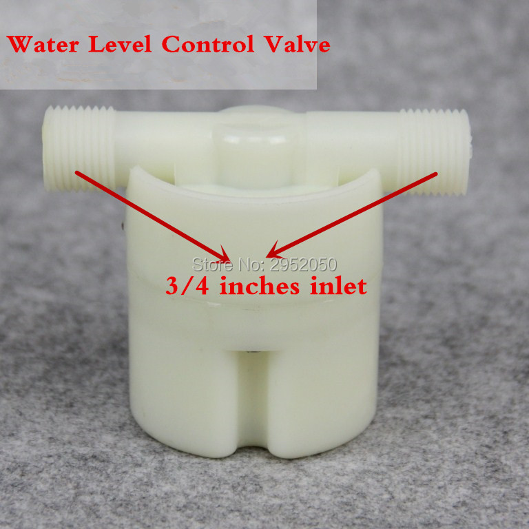 3/4 Floating Ball Valve Automatic Float Valve Water Level Control Valve F/ Water Tank Water Tower Free Shipping free shipping mj dn20 g3 4 water tank plastic float valve water float valve flush valve toilet flush valve