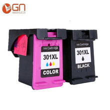 GN 301XL чернильные картриджи Замена для hp 301 XL(1 черный, 1 трехцветный), совместимый для hp с чернилами hp Deskjet 1000 1050A 1510 2050 2540