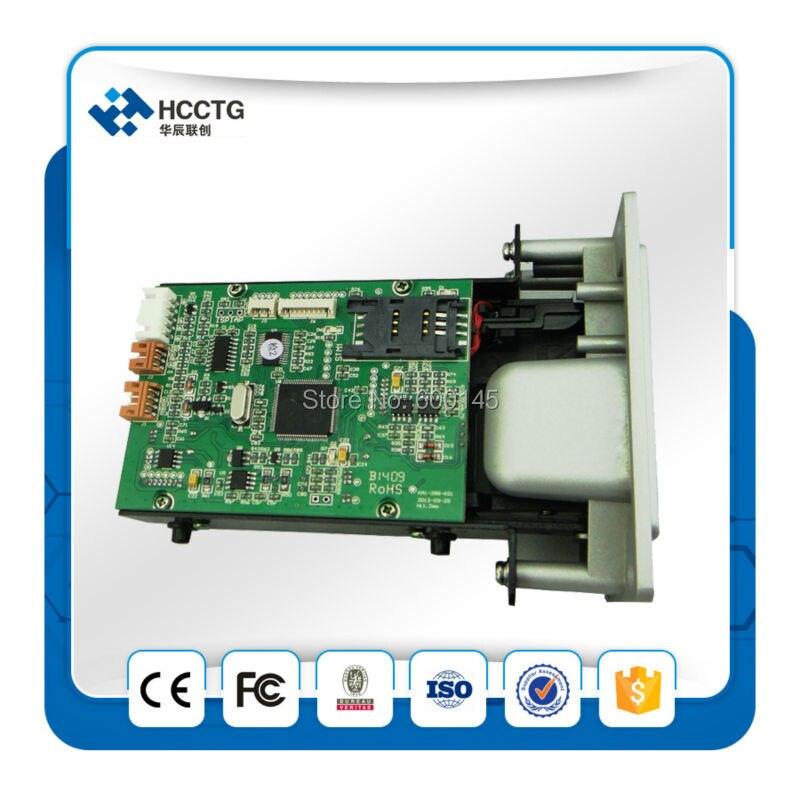 Manuel de série carte d'insertion lecteur pour ATM et Auto distributeur automatique avec SDK gratuit pour magnétique + RFID + IC Card --- HCRT288K - 3