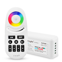 Milight <font><b>FUT028</b></font> DC12/24V 2.4G controller Wireless touch panel color RF RGBW led Controller for RGBW led strip image