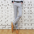 Free shipping 2015 fashion new Slim Men's casual new spring straight trousers Korean version the influx of men Slim pants