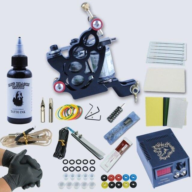 1 Set Professional Tattoo Starter Kits Complete Tattoo Kit Set ...
