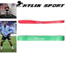 Green and red  combination Cheaper Short Crossfit resistance band body gym power training