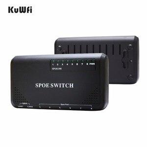 Image 3 - 8 porty przełącznik sieciowy 10/100 mb/s 90W przełącznik POE moc Ethernet do kamery IP przełącznik sieciowy urządzenia telefon bezprzewodowy AP ustawienie