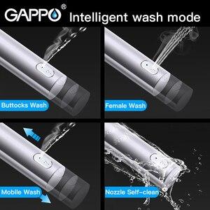 Image 2 - GAPPO Toiletbrillen elektrische bidet bekleding verwarmde Smart toiletbril deksel droog schoon toilet intelligente toilet seat cover tapa wc