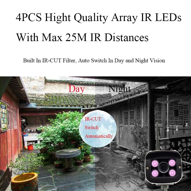 Evolylcam HD 1MP 720P / 960P 1.3MP / 1080P 2MP Trådlös IP-kamera - Säkerhet och skydd - Foto 5