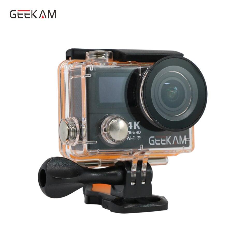 Originale GEEKAM H3R H3 wifi macchina fotografica di azione 4 K Ultra HD 1080p60fps 720P120FPS pro impermeabile mini cam moto video camera sport