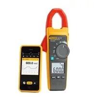 Fluke 902 FC True RMS Digital Clamp Meter measure flame sensor, 60k ohm, flue temperature variable frequency drive performance
