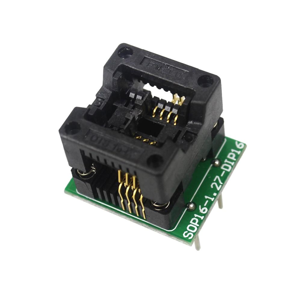 SOIC8 SOP8 to DIP8 EZ Programmer Adapter Socket Converter Module 150milSOIC8 SOP8 to DIP8 EZ Programmer Adapter Socket Converter Module 150mil
