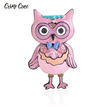 Cring CoCo Cute Enamel Brooches For Women Kids Cartoon Brooch Corsage Small Bouquet Pins Feminino Party Bag Dress Accessories