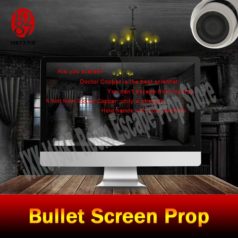 все цены на Secret chamber room game prop bullet screen prop to get the clues from JXKJ1987 real life room escape prop adventure game device онлайн