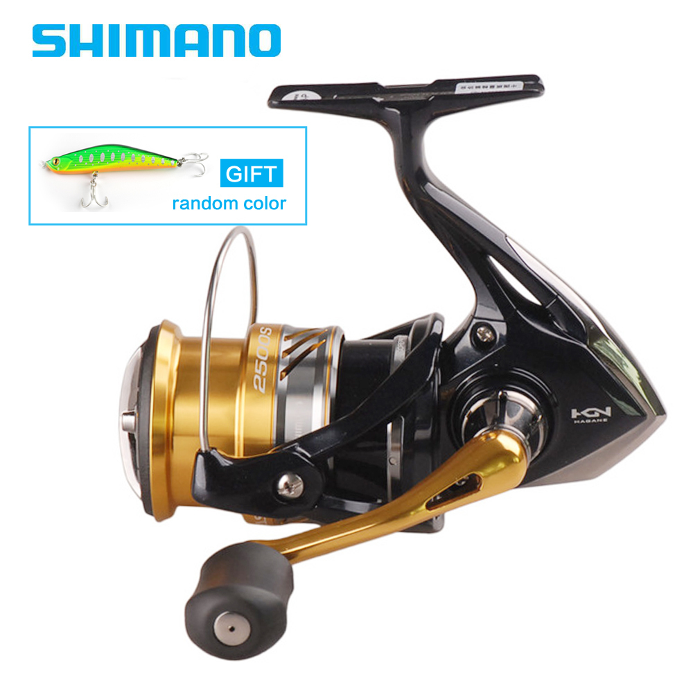 SHIMANO Original NASCI 1000 2500 3000HG 4000XG C5000XG Spinning Fishing Reel Deep Cup 5BB Hagane gear