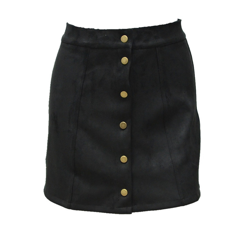 HTB1JZrFPpXXXXb1XVXXq6xXFXXXD - Spring Button Suede Leather Skirts JKP058