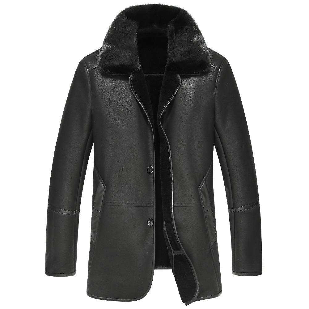 New brand fur men 's large genuine leather men' s large code warm loose lapel coat winter coat 6XL 7XL 8XL 9XL men plus size 4xl 5xl 6xl 7xl 8xl 9xl winter pant sport fleece lined softshell warm outdoor climbing snow soft shell pant