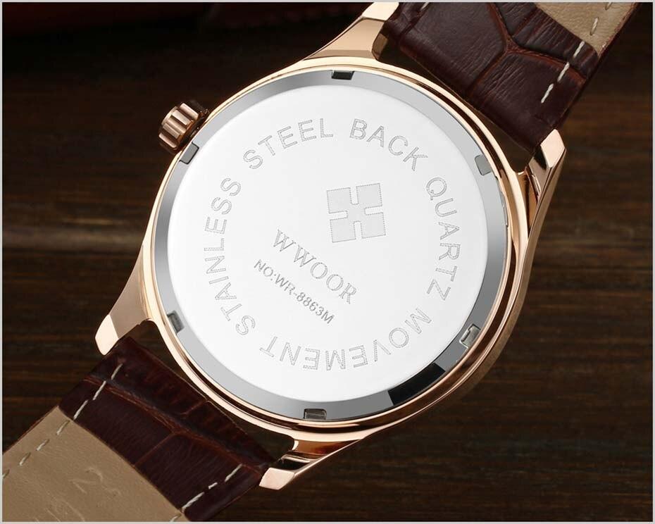 New Quartz Mens Watches Top Brand Luxury Complete Calendar Men\'s Wrist Watch Genuine Leather Strap Men Wristwatches  2019 (12)