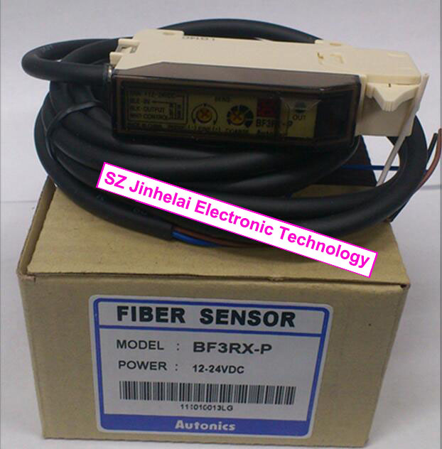 BF3RX-P  New and original  AUTONICS   Optical fiber amplifier   12-24VDC e3x hd10 new and original ormon photoelectric switch optical fiber amplifier 12 24vdc 2m