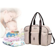 Colorland baby diaper bag storage fashion mommy pregnant women package daddy messenger change handbag