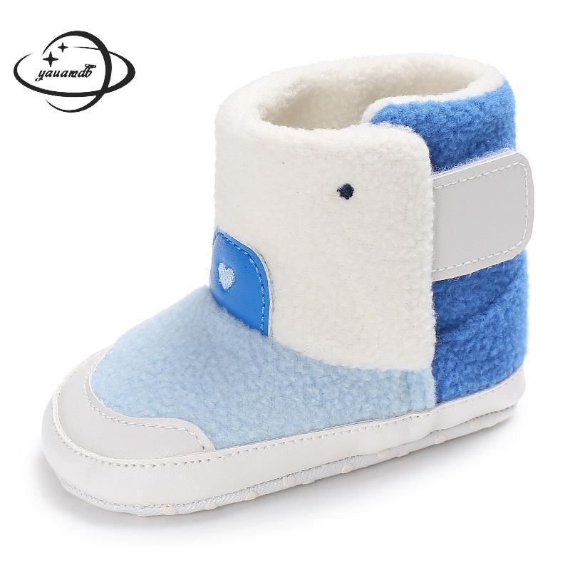 100% QualitäT Yauamdb Baby Schnee Stiefel 2017 Winter Herbst Größe 11-13 Jungen Mädchen Kid Hinzufügen Wolle Baumwolle Schuhe High Top Nicht-slip Cartoon Schuhe 24