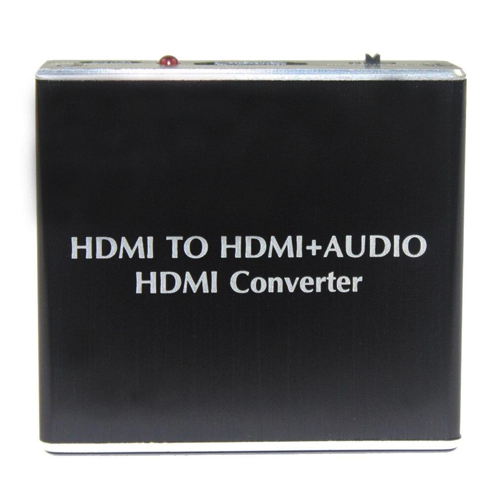Audio Hdmi Spdif Konverter Audio Extractor Hdmi V1.4 Unterstützung 4 K 2 K Power Freies Hdmi Zu Hdmi