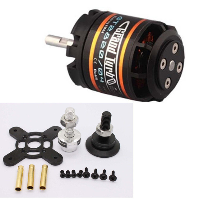 Emax brushless motor for RC airplane GT2820 850KV / 985KV PUSH 2.2KG For fix wing drone цены