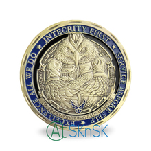 Wholesale Price 50/100pcs/lot USAF coin United States of American Department the Air Force Challenge Coin Gift