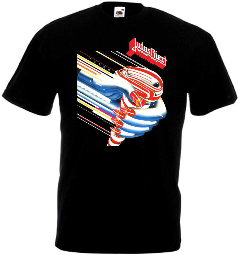 Judas Priest Turbo T Shirt Black Poster All Sizes S 5Xl
