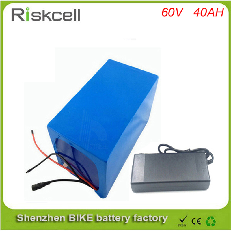 Free  customs tax electric bike battery 60v 40ah / ebike battery 60v 3000W BMS control ebike kit with 60v 40ah li ion battery free customs taxes and shipping li ion ebike battery pack 24v 8ah 350w electric bike kit battery hailong e bike with charger