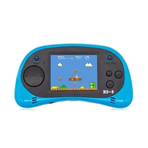 Image 3 - RS 8 Handheld Game Console for Kids Built in 260 Classic Old Video Games 2.5Lcd Retro Arcade Gaming Player TV out Birthday Gift