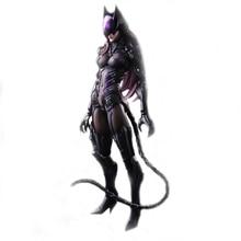 NEW MARVEL 27CM PlayArts PA DC Movie Superhero Batman Arts Kai Catwoman PVC Action Figure Collectible Model Toys Brinquedos