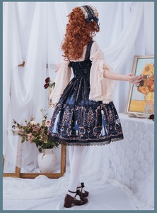Image 5 - Astrology College ~ Sweet Printed Midi Party Dress Lolita JSK Dress