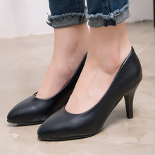 Salto Alto Lolita Shoes Wholesale Fashion New Women Office Career Heels High Lady Work Shoes Height 5cm Mujer For Woman Pumps цена 2017