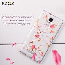 PZOZ Xiaomi Redmi Note 3 Pro Case Cute Cartoon Silicone Cover Original font b Xiomi b