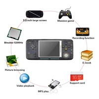 New Nostalgia Retro Handheld Game Console 3.0 Inch Console Built in 1151 Different Games Support For NEOGEO/GBC/FC/CP1/CP2/GB