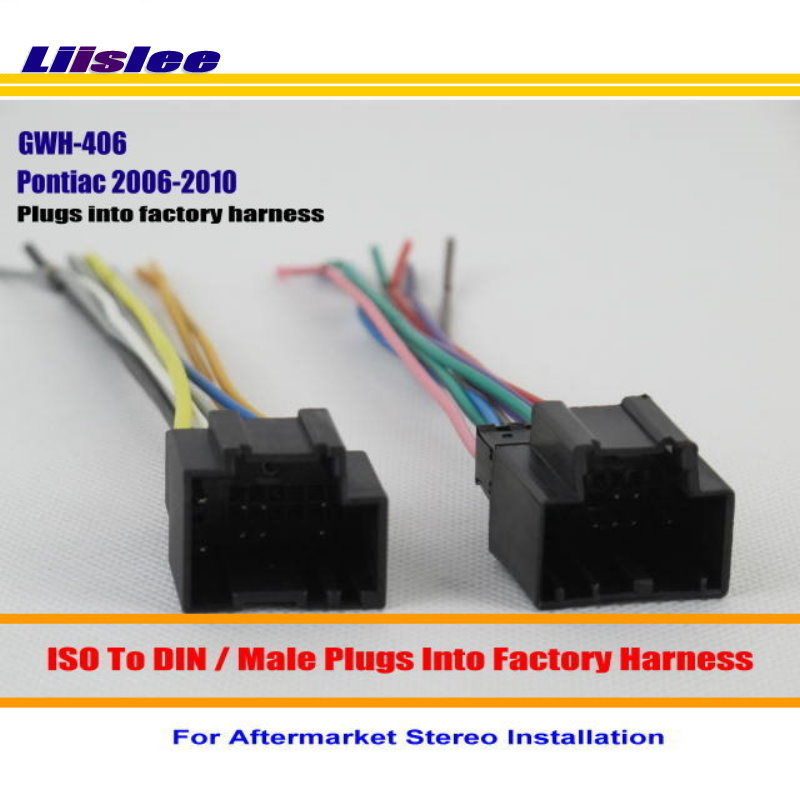 Liislee For Pontiac G5 Solstice Torrent Car Radio Harness Adapter Plugs into Factory Harness Aftermarket Installation pontiac g5 wiring harness pontiac wiring diagrams for diy car 2006 pontiac torrent stereo wiring harness at n-0.co