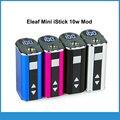 Original eleaf mini istick tensão variável 1050 mah bateria portátil com display digital led mini istick istick 10 w mod