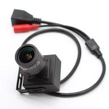 Mini HD CCTV IP Camera Audio 1080P 2MP Security Network Box XMeye P2P ONVIF H.265+ 2.8-12mm lens ahwve mini diy ip camera module board with ircut 1080p 2mp onvif h264 mobile serveillance xmeye 3 7mm lens onvif