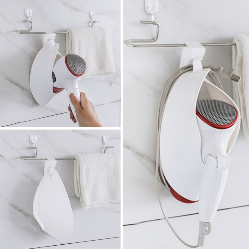 Hair Dryer Holder Cupboard Stand Hanging Bathroom Organizer Shelf Rack  Salon New #0725 In Storage Holders U0026 Racks From Home U0026 Garden On  Aliexpress.com ...